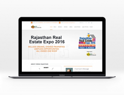 CREDAI Rajasthan Website Design
